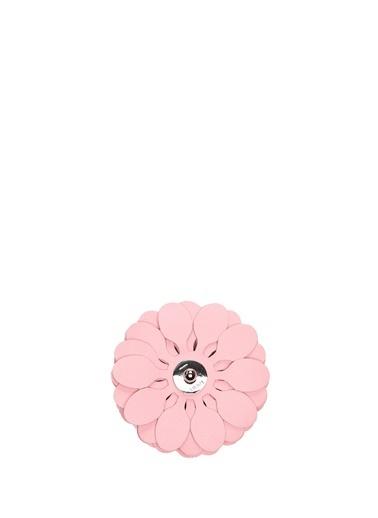 Loewe Loewe  Çiçek Formlu Kadın Deri Çanta Aksesuarı 101613429 Pembe